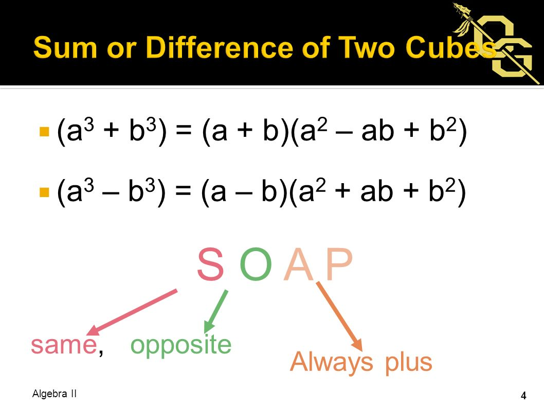 How To Factor Difference Of 2 Cubes – Difference of Cubes Worksheet