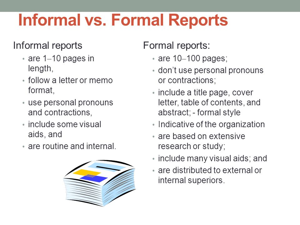 Proposals And Formal Reports  Ppt Download