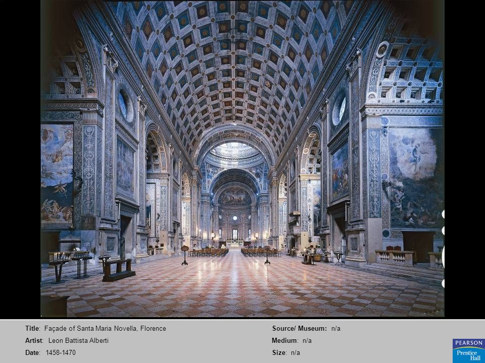 Title: Façade of Santa Maria Novella, Florence