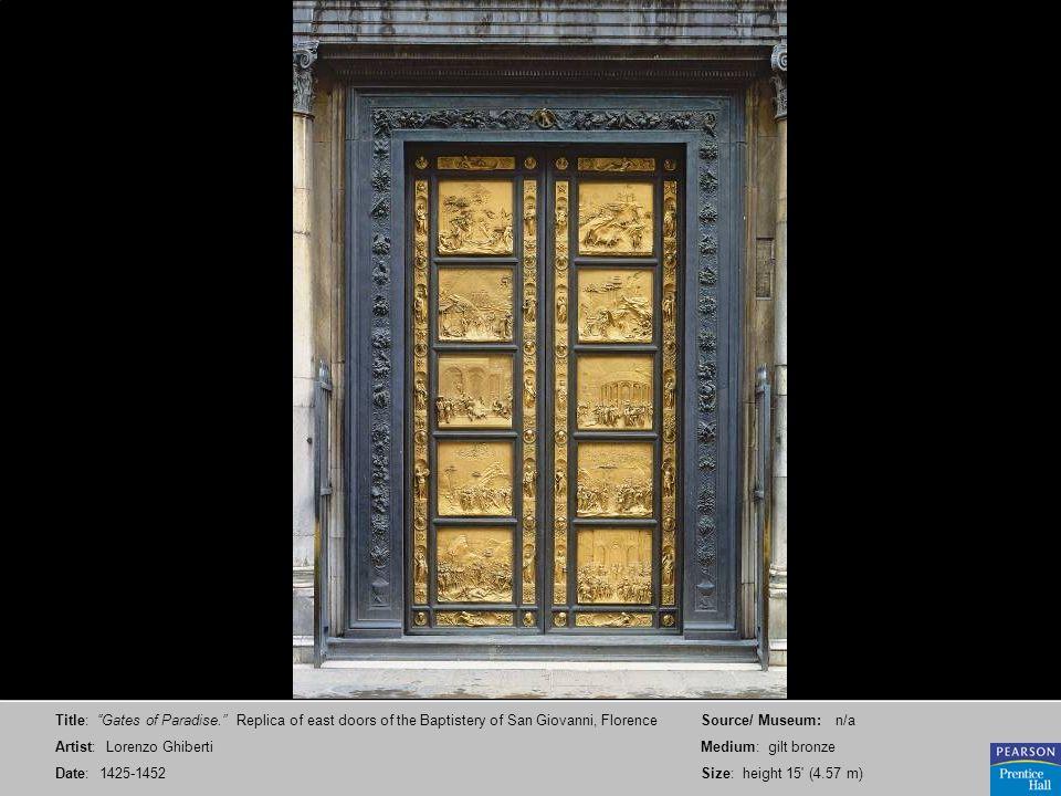 Title: Gates of Paradise