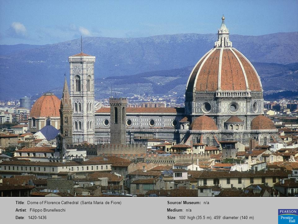 Title: Dome of Florence Cathedral (Santa Maria de Fiore)