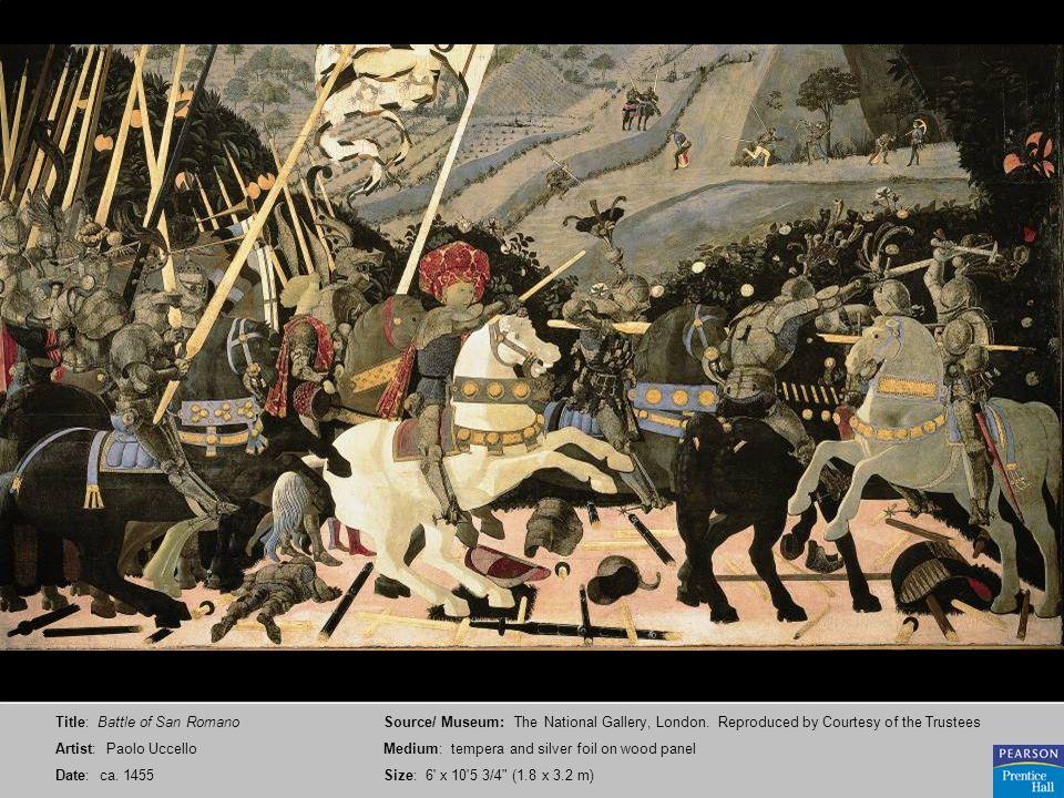 Title: Battle of San Romano