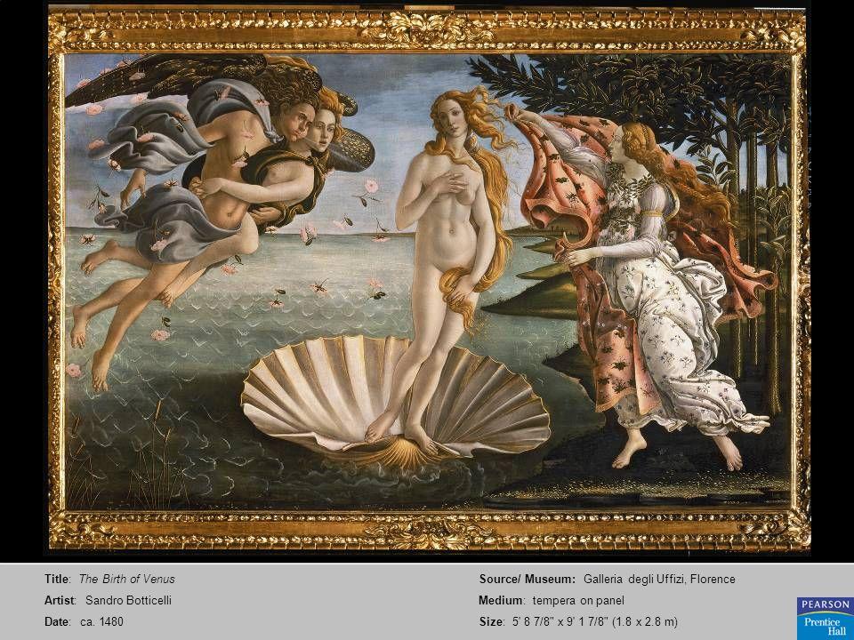 Title: The Birth of Venus