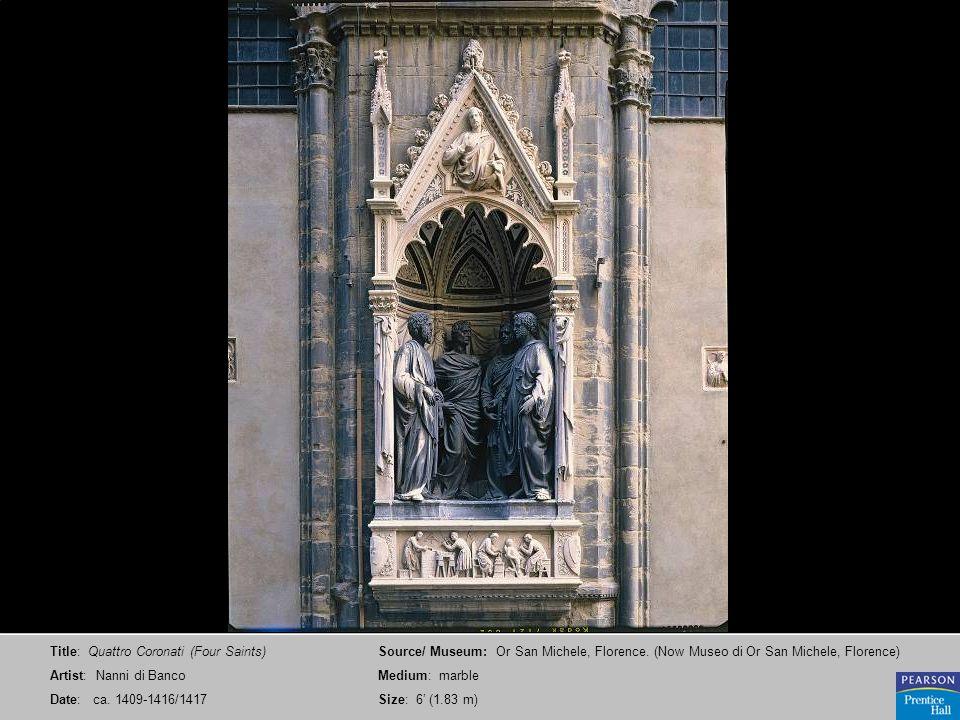 Title: Quattro Coronati (Four Saints)