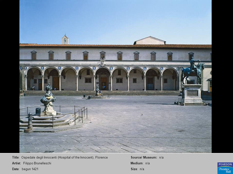 Title: Ospedale degli Innocenti (Hospital of the Innocent), Florence
