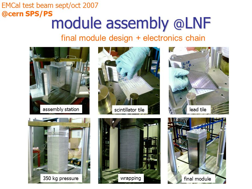 Electronics Assembly Station : First results from emcal test beam ppt video online download