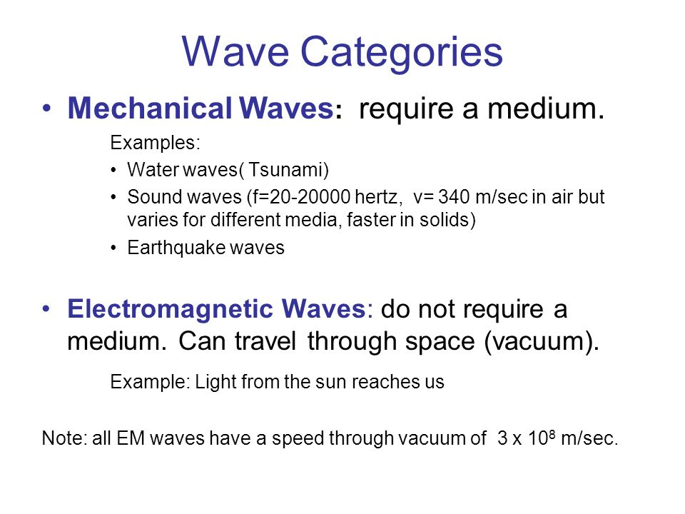 Infrared Waves Examples Waves Chemistry Mrs. C...