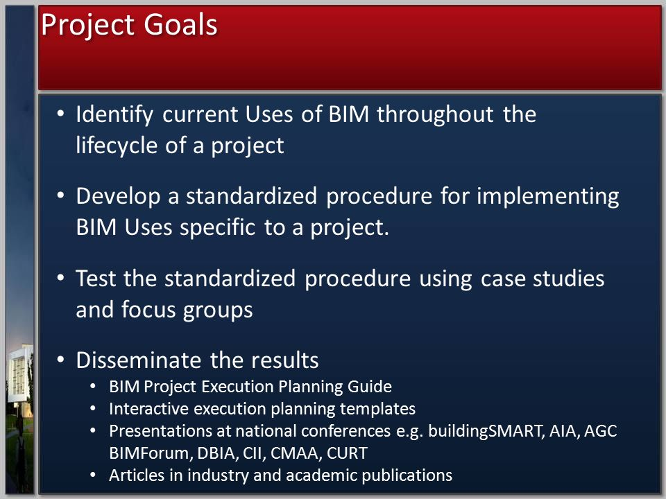 standard project execution plan