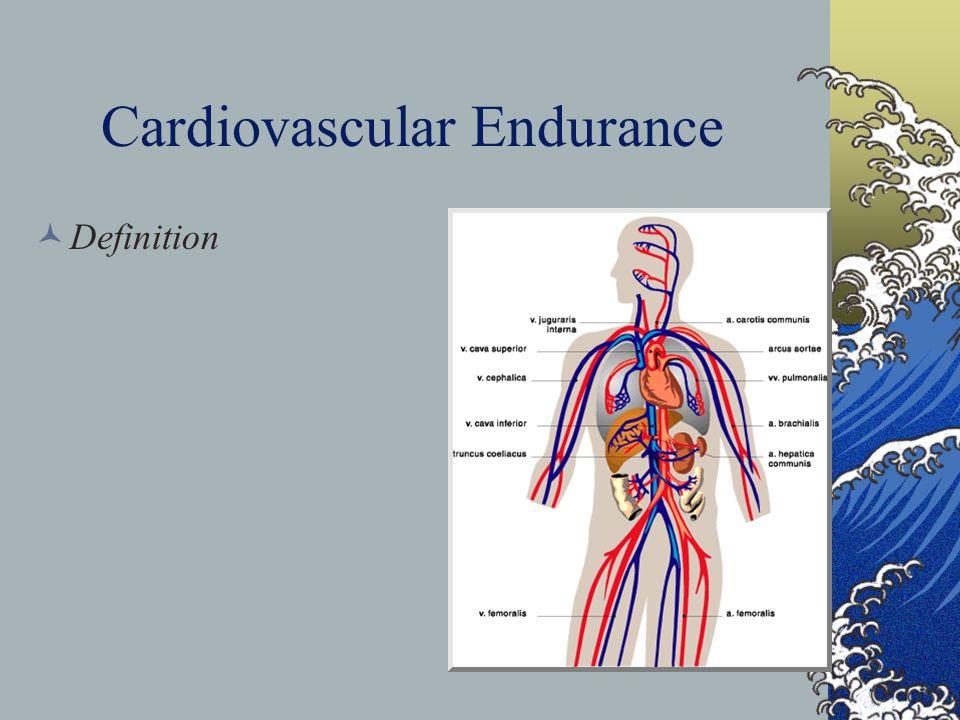 Cardiovascular Endurance Training - ppt download