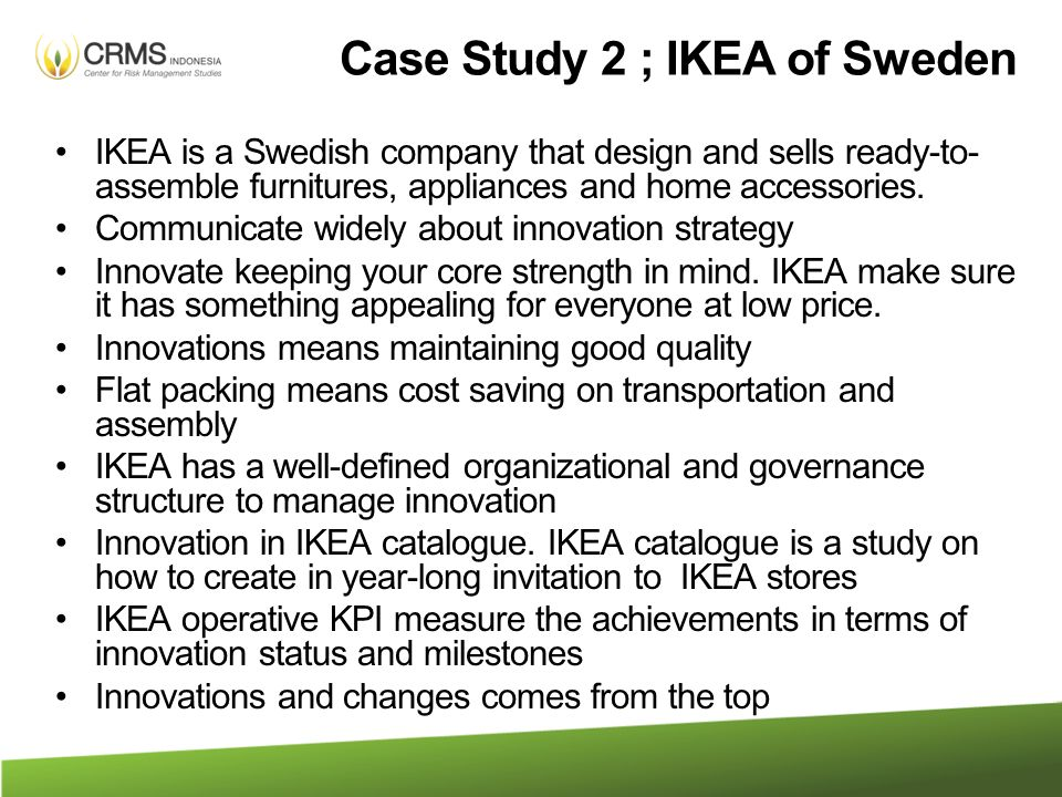 IKEA CASE STUDY   ANALYSIS Scribd