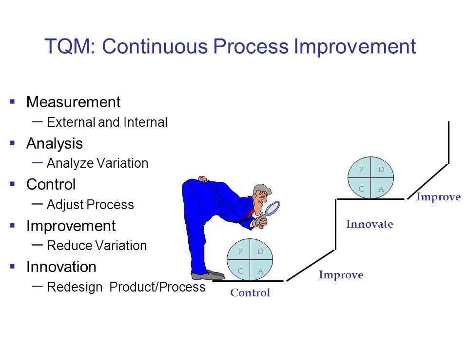 an analysis of the education as a continuous process Continuous process improvement: analyzing  analyzing work processes is  important to the organization  in business (even if your business is education.