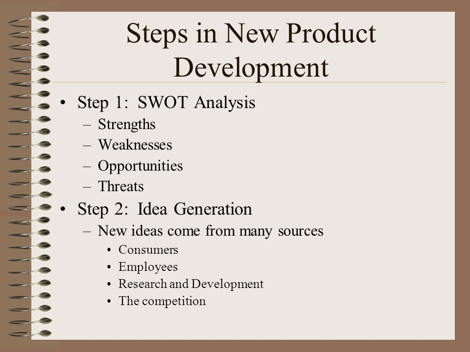 new product development threat opportunities After assessing the strengths and weaknesses of your business for your business plan, look for external forces, like opportunities and threats, that may have an effect on its destiny these.