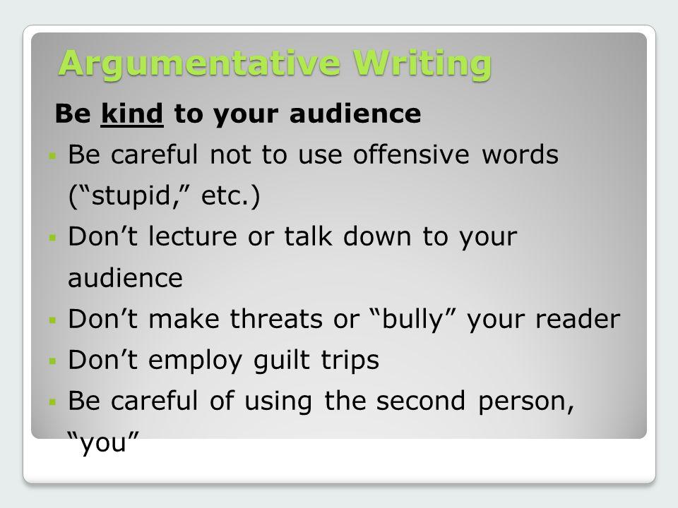 Argumentative Writing Ppt Video Online Download
