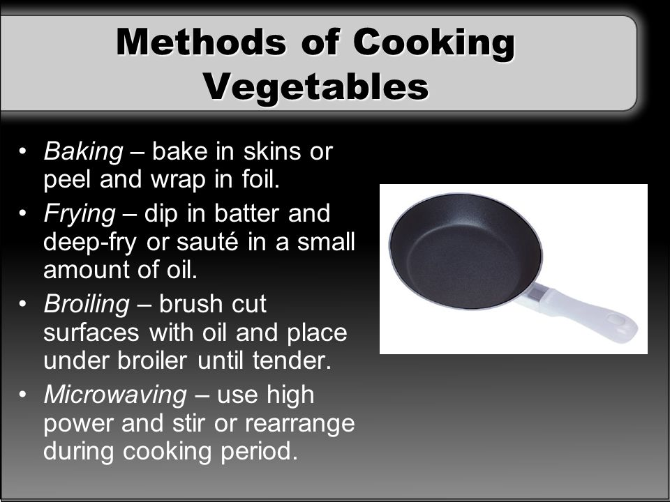 Part 3 The Preparation Of Food Ppt Download