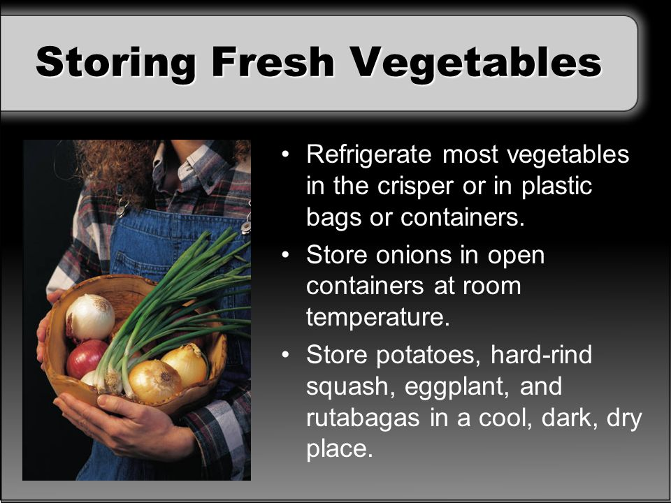 Refrigerate Or Room Temperature For An Eggplant