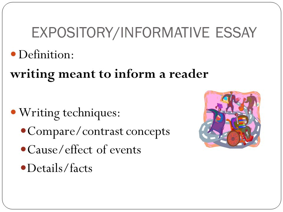 nonfiction key concepts ppt video online  expository informative essay