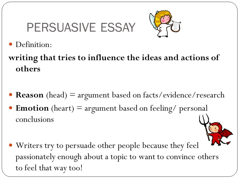 persuasive essay topic ideas