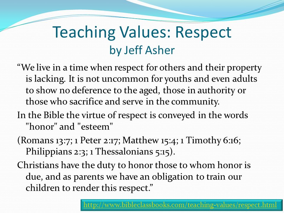 respect love and appreciate your parents essay How to respect your parents the recognition and respect of parents is mentioned allah reminds children to recognise and to appreciate the love and care that.