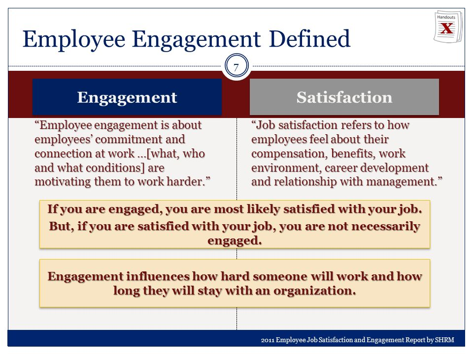 the relationship of engagement and job Relationship between organizational commitment, employee engagement and career satisfaction: a case of university of gujrat (1) because there can be a mismatch between employees perceptions about their job and development being provided person.