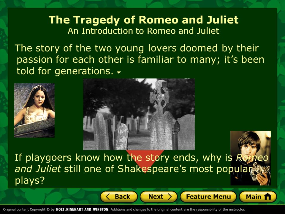 the tragedy of a young love Sometimes we love to love romances that end poorly from romeo and juliet to tristan and isolde to ennis and jack, get your fix of tragedy here 9 love stories with tragic endings | britannicacom.