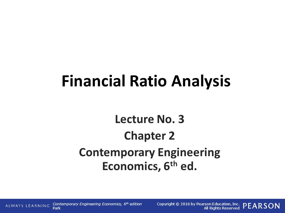 Financial Ratio Analysis  Ppt Video Online Download