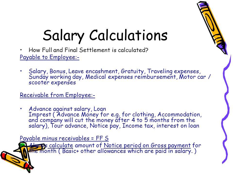 gratuity calculation formula