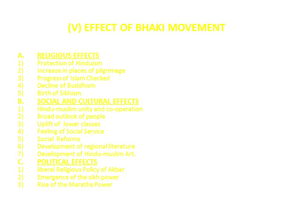 growth of the bhakti movement The bhakti movement played a significant role in transforming importance of bhakti movement christianity had nothing to do with the growth and development of.