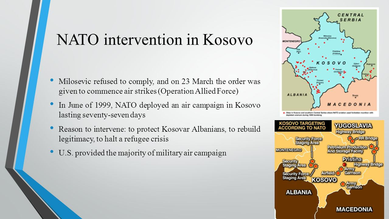 humanitarian intervention the case of kosovo Shotwell, charles b and thachuk, kimberley, humanitarian intervention: the case for  microsoft word - intervention vs sovereignty - kosovo conflictdoc.