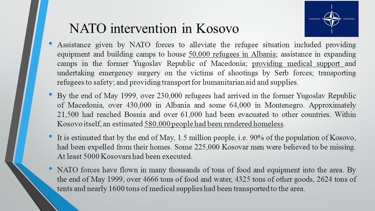 19 NATO intervention in Kosovo