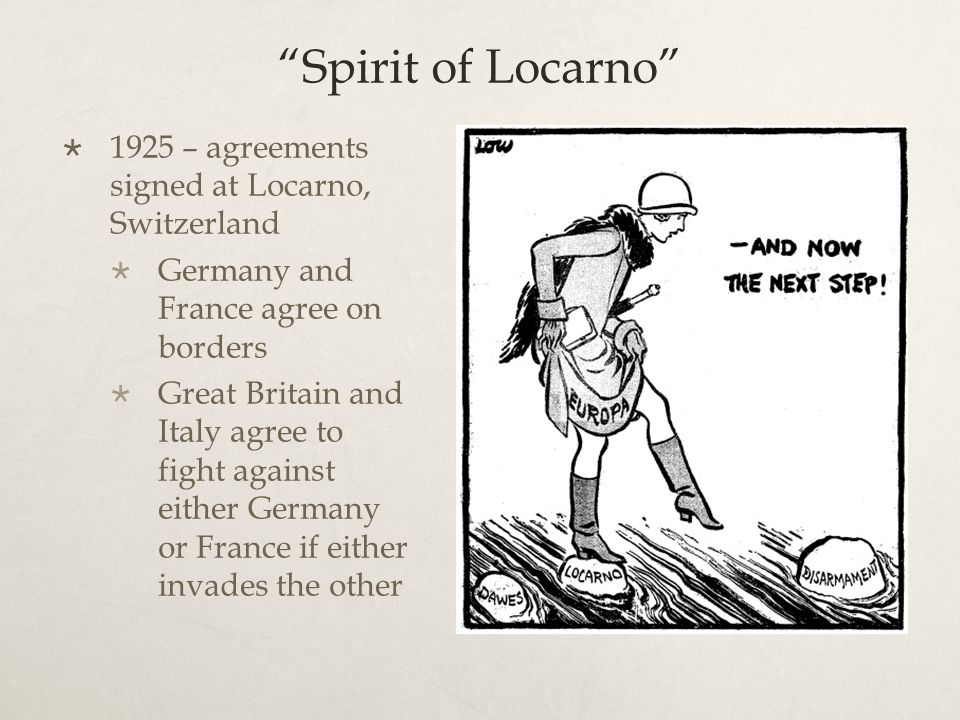 List Of Synonyms And Antonyms Of The Word Locarno Agreements