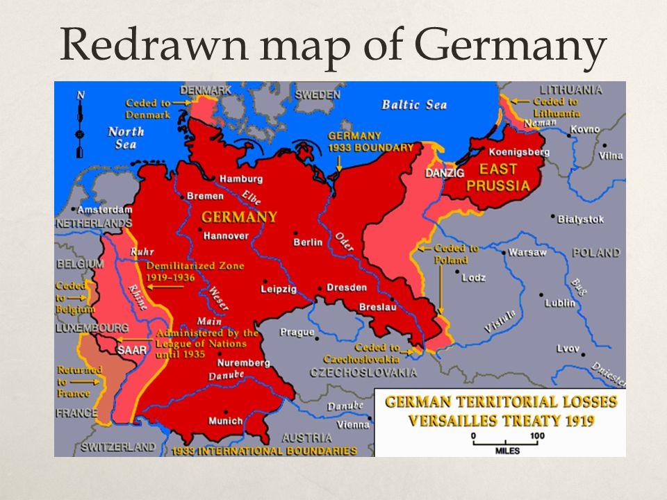 a history of the weimar republic in germany after world war one and the treaty of versailles