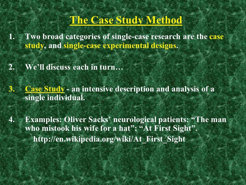 methodology single case study research