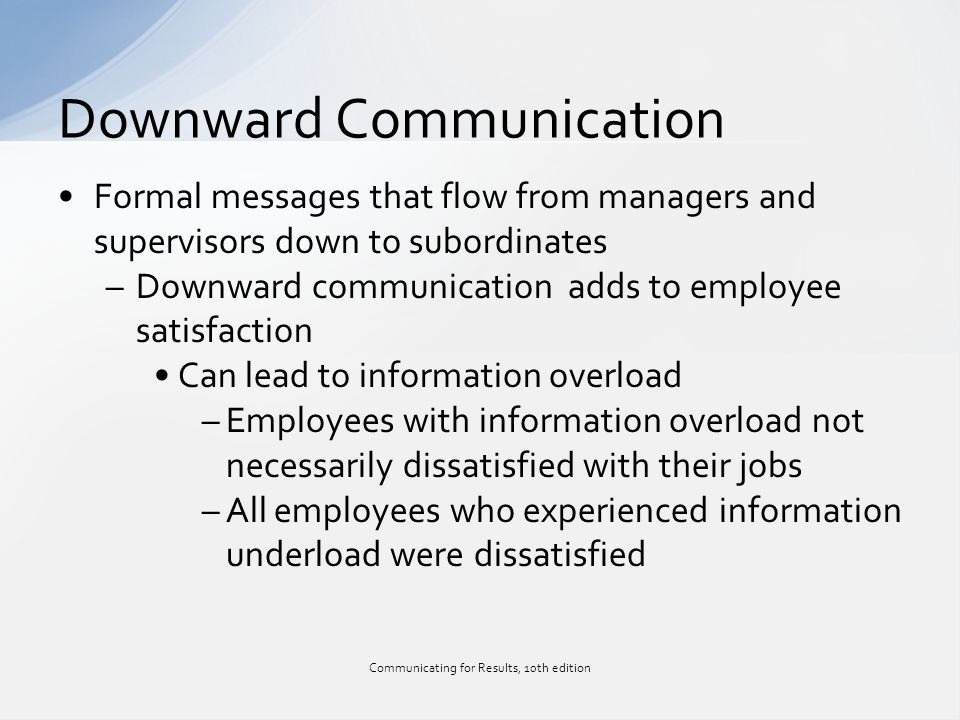 effects of supervisor subordinate communication The effects of supervisor power on various interpersonal facets of the supervisor‐subordinate relationship (eg conformity, influence, support for the supervisor) and the relationship between supervisor power and subordinate work attitudes (eg job satisfaction, commitment).