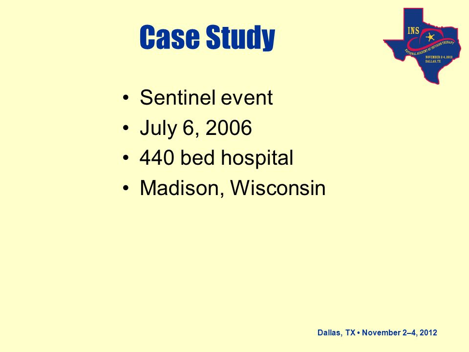 sentinel event case study essay Journal article  study death by suicide within 1 week of hospital discharge: a retrospective study of root cause analysis reports riblet n, shiner b, watts bv, mills p, rusch b, hemphill rr.