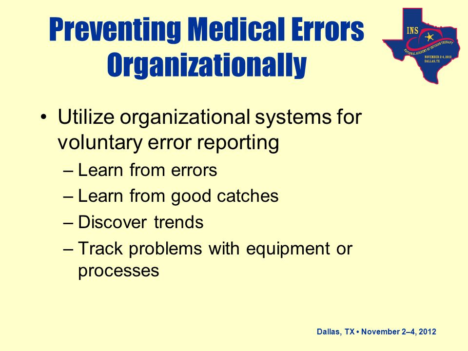 preventing medical errors Ashp guidelines on preventing medication errors in hospitals 3 setting (eg, formulary system, pharmacy and therapeutics committee, widespread use of.