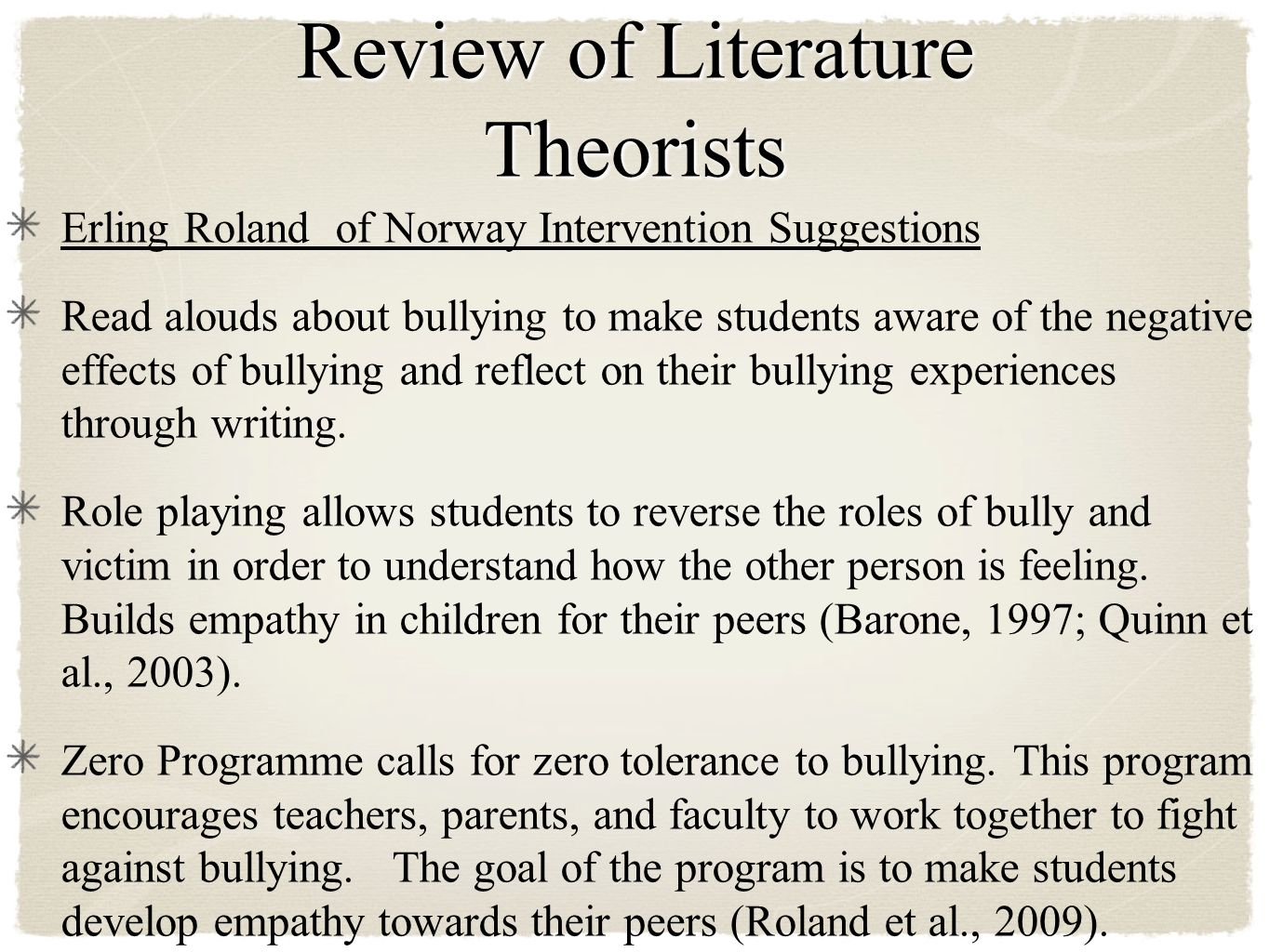 bullying and marsh et al essay Of bullying (marsh, et al, 2010) in a sample (n = 821) encompassing 15-16 year  olds from 107 new zealand schools (approximately a quarter of the schools in.