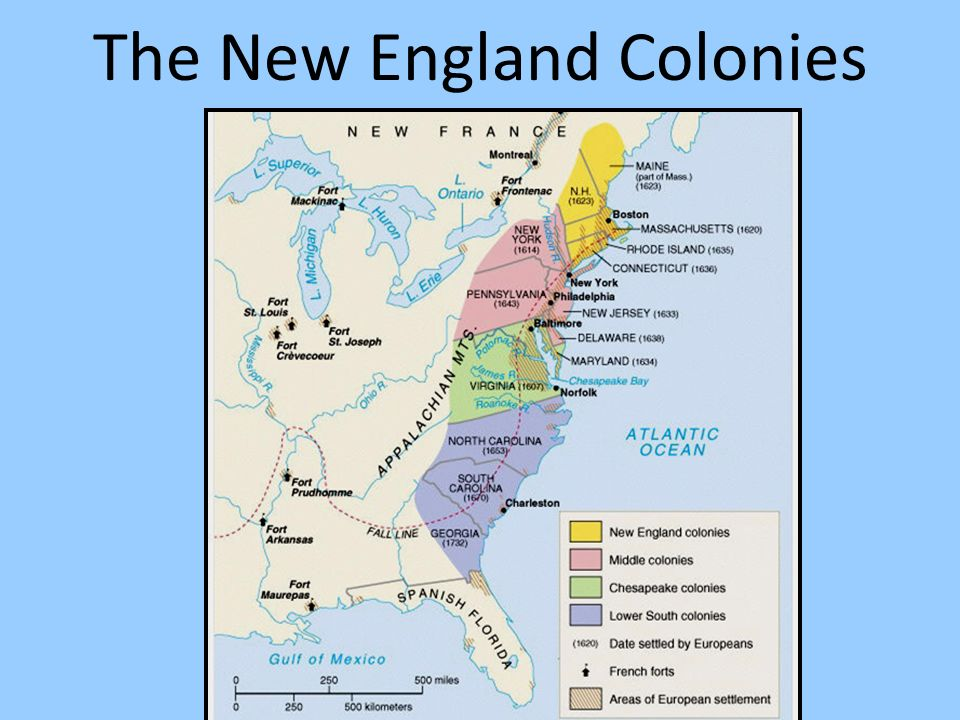 The New England Colonies - ppt download