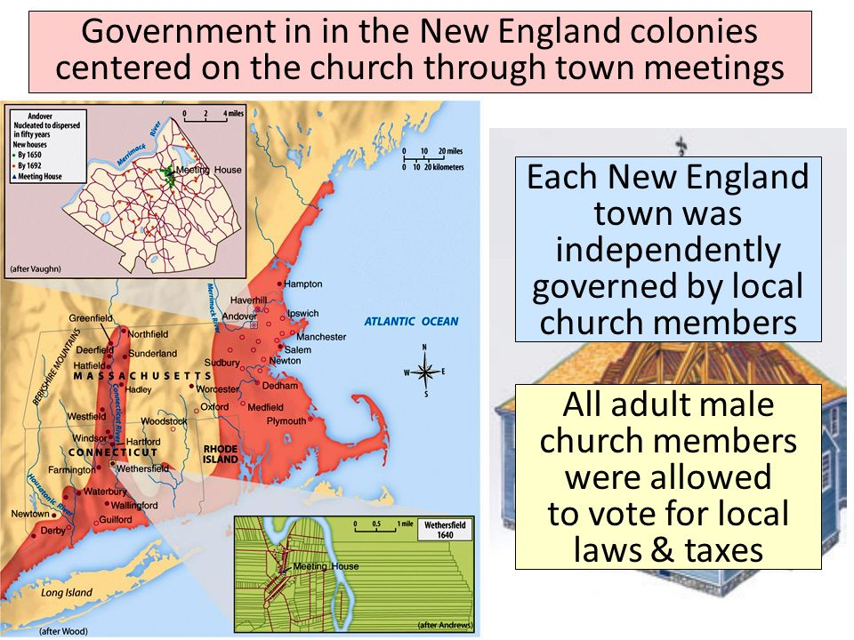 the new england colonies The new england colonies were composed of the colonies of new hampshire, rhode island, connecticut, and massachusetts in the new england colonies, land was given to a colony by the crown (the king or queen of england) in these early days of settlement, a colony was not a state a colony was a.