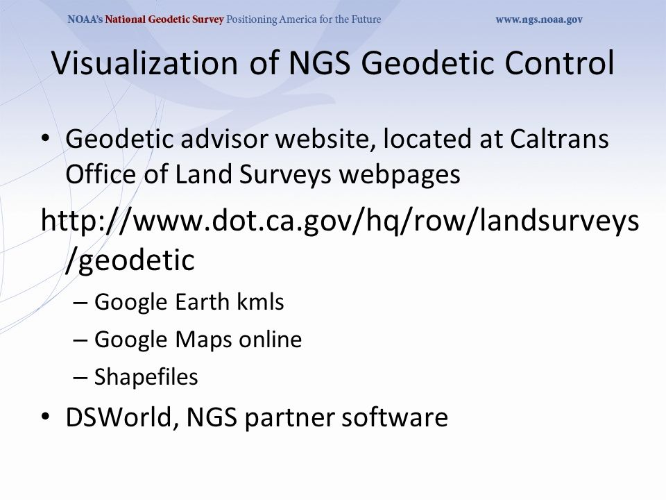 Who Needs New Datums NGS Says Ppt Download - Us geodetic survey maps