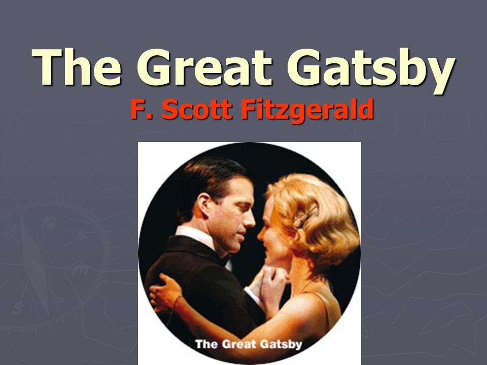 francis scott fitzgerald the great gatsby The great gatsby, f scott fitzgerald's 1925 jazz age novel about the  impossibility of recapturing the past, was initially a failure today, the story of  gatsby's.