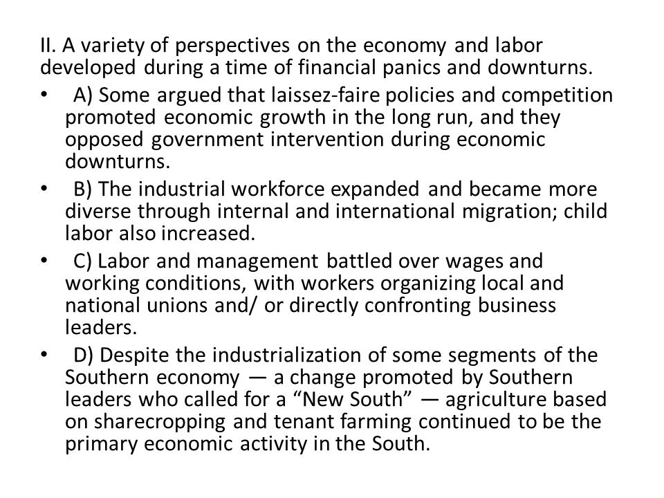 an analysis of the laissez faire policy between 1865 and 1900 A summary of history of federalism in 's federalism  at different points in time,  the balance and boundaries between the national  part of the disputes that led  to the civil war (1861–1865) concerned federalism  for much of the nineteenth  century, the government pursued a hands-off, laissez-faire economic policy, but.