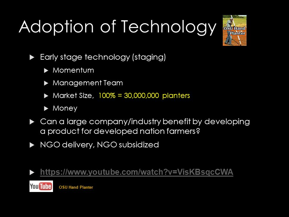 role of age in technology adoption The domain of technology adoption is the investigation of the role of trust and its  impact on adoption (gefen,  2000), and age (morris and venkatesh 2000.