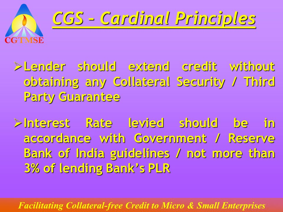 CGS – Cardinal Principles