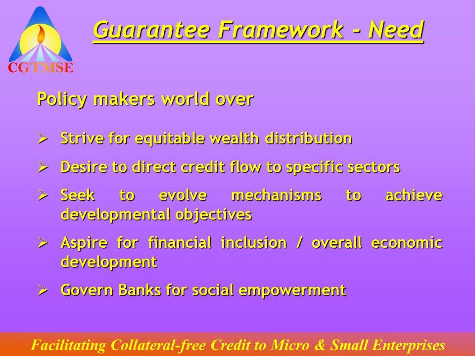 Facilitating Collateral-free Credit to Micro & Small Enterprises