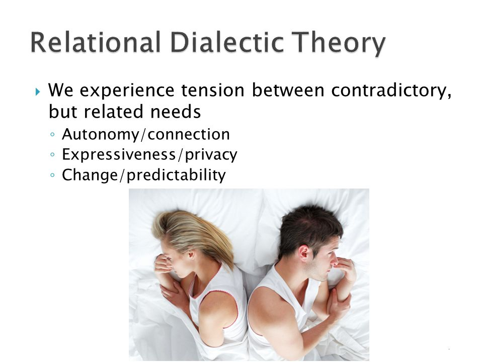 dialectic relational theory