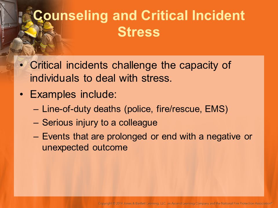critical incidents in group counseling Icisf team membership the deputy director of the fdny counseling service the mission of the international critical incident stress foundation, inc is.