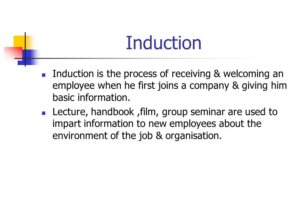 "induction and employee socialisation Socialisation an important part of the induction programme is to assign a ""buddy""  to your new employee they can help with any practical."