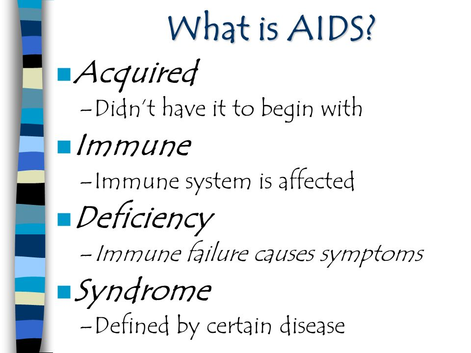 an overview of the acquired immune deficiency syndrome as a modern plague Free essay: introduction hiv/aids the acquired immune deficiency syndrome (aids) was first identified as a distinct new disease in 1981 in 1983 hiv was.