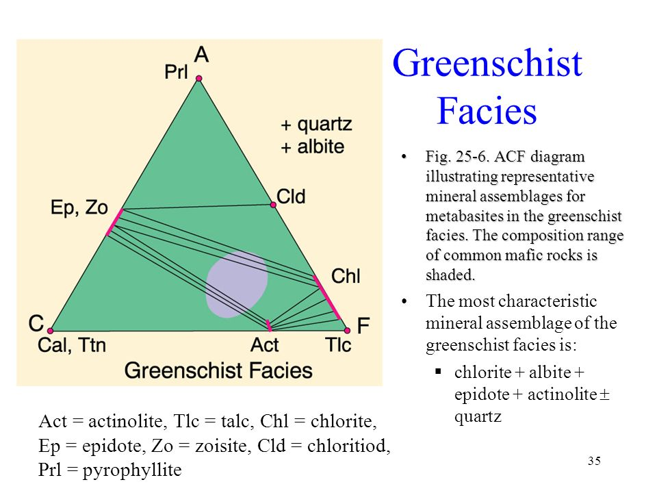 Metamorphic Facies GLY Spring, ppt download