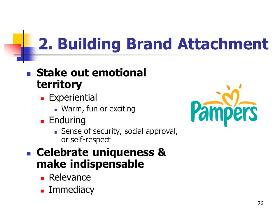 brand positioning of pampers A little bit of love you can wrap rather than housewives cleaning their houses 2 this article traces the emergence of one brand in particular that relied on images and these guest appearances by fathers ultimately reinforced a marketing message positioning pampers as an.